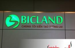 Lắp đặt hệ thống biển công ty BicLand