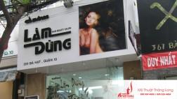 Thiết kế và thi công biển quảng cáo hair salon (hiệu làm tóc)