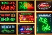 Mẫu biển quảng cáo đèn LED