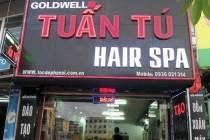Mẫu biển quảng cáo cho Salon tóc