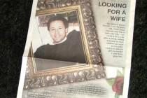 Nước Mỹ: Con trai 48 tuổi được bố quảng cáo tìm vợ
